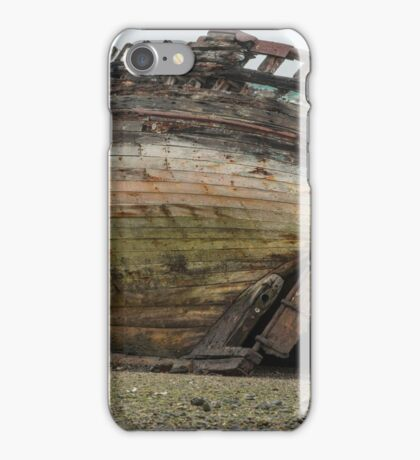 Boat Wreck Dulas Bay  iPhone Case/Skin