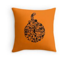 things that go... BOOM!!! Throw Pillow