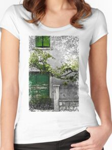 Dalmatian House Women's Fitted Scoop T-Shirt