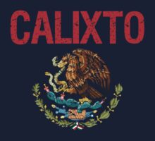 Calixto Surname Mexican Kids Clothes