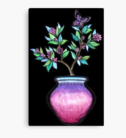 Dusk Vase  Canvas Print