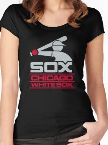 Chicago White Sox Women's Fitted Scoop T-Shirt