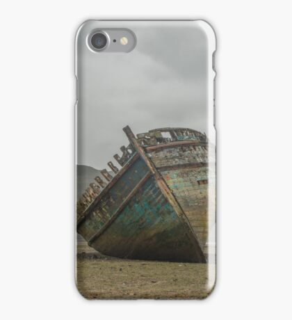 Shipwreck on Anglesey  iPhone Case/Skin
