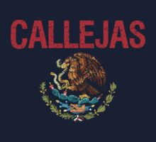 Callejas Surname Mexican Kids Clothes