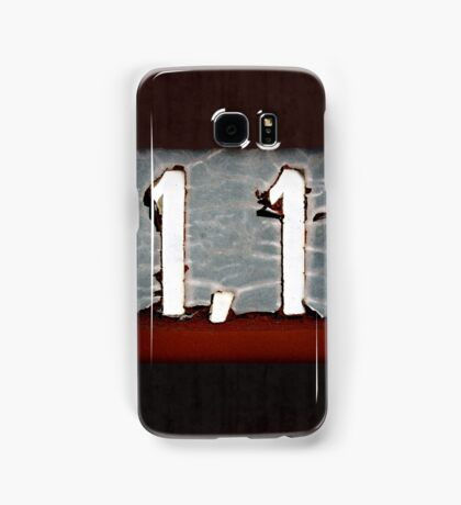 1,1 Samsung Galaxy Case/Skin