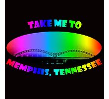 Take Me to Memphis, Tennessee Photographic Print