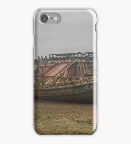 Anglesey shipwreck  iPhone Case/Skin