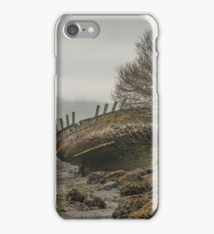 Dulas Bay Wreck  iPhone Case/Skin
