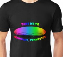 Take Me to Memphis, Tennessee Unisex T-Shirt