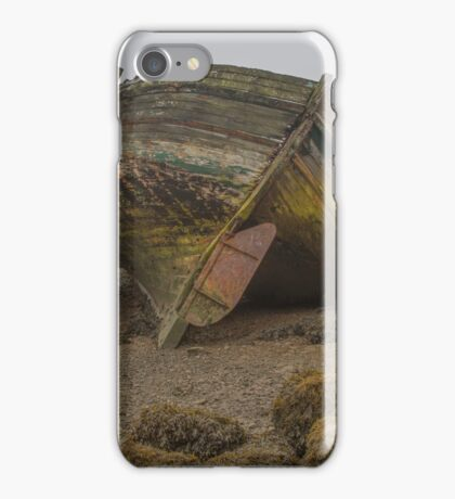 Abandoned Fishing Boat  iPhone Case/Skin