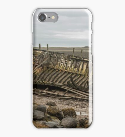 Skeletal Boat Remains  iPhone Case/Skin