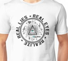 Real Eyes illuminati Unisex T-Shirt