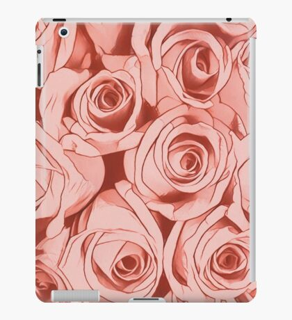 Looking for roses iPad Case/Skin