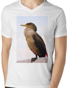 Cormorant Profile Mens V-Neck T-Shirt