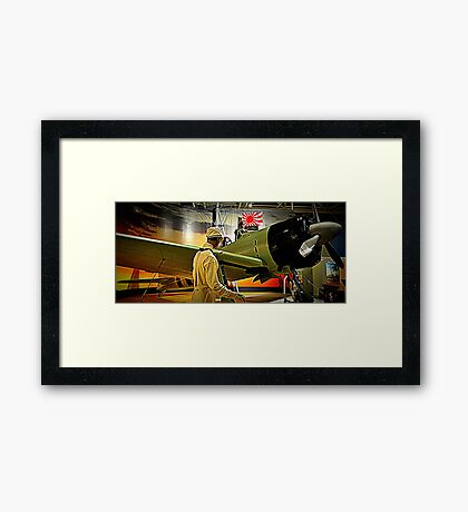 Sneak Attack Zero Framed Print