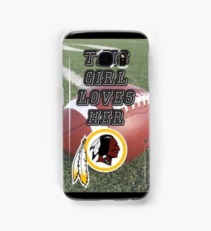 Redskins Love Samsung Galaxy Case/Skin