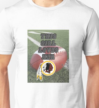 Redskins Love Unisex T-Shirt