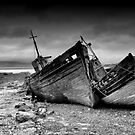 Derelict Fishing Boats, Salen, Isle of Mull, Inner Hebrides, Scotland by Iain MacLean