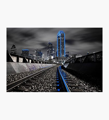 "Dallas ""Cowboys"" Skyline Photographic Print"