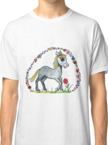 Dappled pony illustration Classic T-Shirt