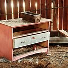 5.11.2014: Old Drawer in Abandoned Hayshed by Petri Volanen
