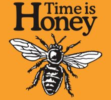Time Is Honey Beekeeper Quote Design T-Shirt