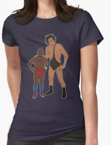 Eric Andre the Giant Womens Fitted T-Shirt
