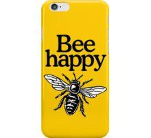 Bee Happy Beekeeper Design iPhone Case/Skin