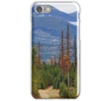Logging Road iPhone Case/Skin