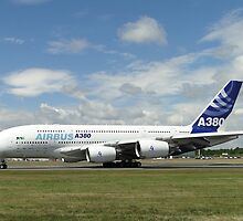 Airbus A380-861   F-WWDD by Barrie Woodward