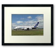Airbus A380-861   F-WWDD Framed Print