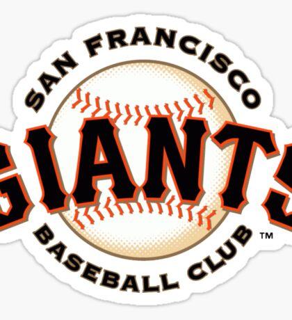 San Francisco Giants Baseball Club Sticker