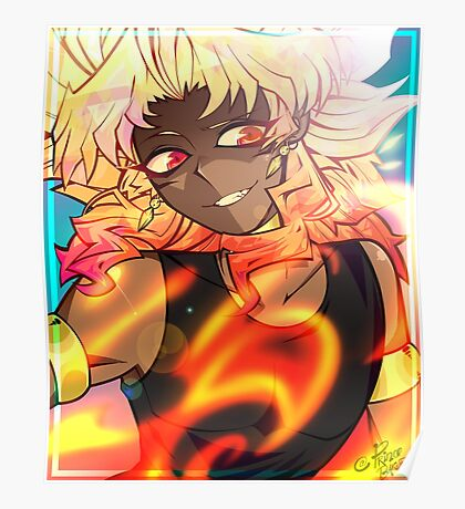 YGO - Feel The Fire Poster