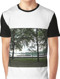 With Greetings from Sloterplas, Amsterdam Graphic T-Shirt