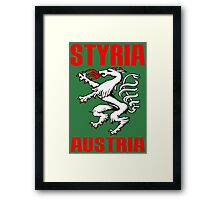 STYRIA, AUSTRIA Framed Print