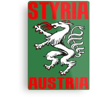 STYRIA, AUSTRIA Metal Print