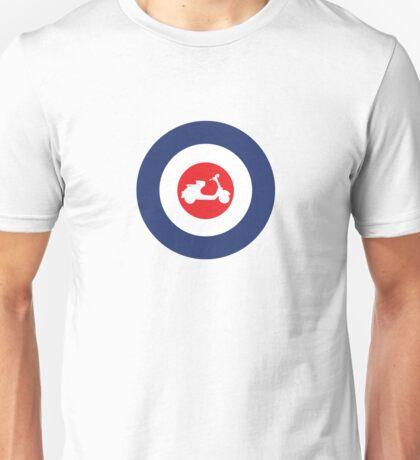 Vespa 125u Mod Culture Unisex T-Shirt