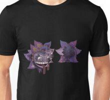 Glitch Hats purpleflower mask Unisex T-Shirt