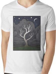 Ohio Sycamore Mens V-Neck T-Shirt