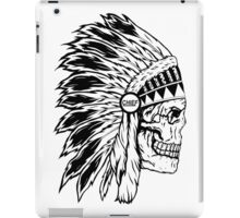 Chief Headress iPad Case/Skin