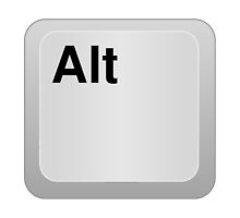 Keyboard Alt Key by TheBestStore