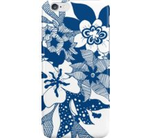 Maritime flowers iPhone Case/Skin