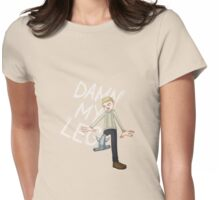 DAMN MY SHARK Womens Fitted T-Shirt