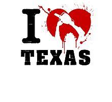 I Heart Texas Photographic Print