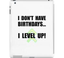 Level Up Birthday iPad Case/Skin