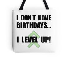 Level Up Birthday Tote Bag