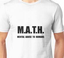 Math Abuse Unisex T-Shirt