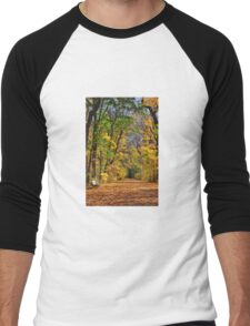 fall. Men's Baseball ¾ T-Shirt