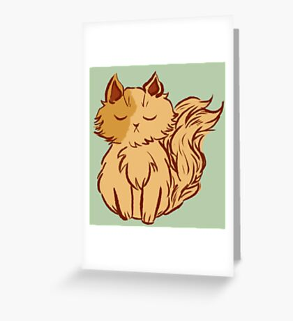 Sophie the Kitten Greeting Card