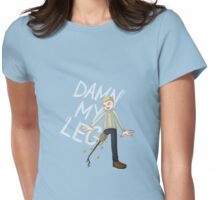 DAMN MY BEES Womens Fitted T-Shirt